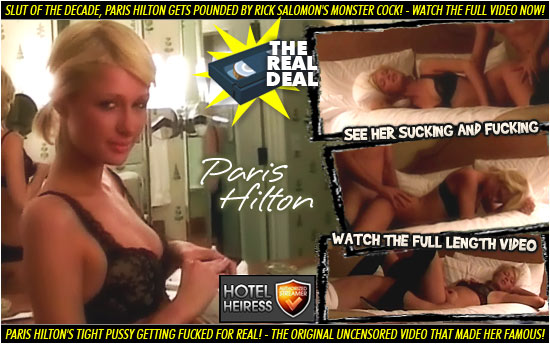 Watch the Paris Hilton sex tape online - click here!